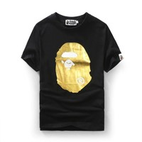 Bape Cotton Summer Print Short Sleeve T-shirts [10262482579]