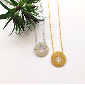 1 Compass  Necklace #L15