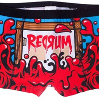 PERIOD PANTIES BOYSHORTS REDRUM - Sourpuss Clothing