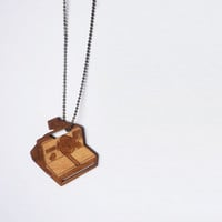 Vintage Camera Necklace by VectorCloud on Etsy