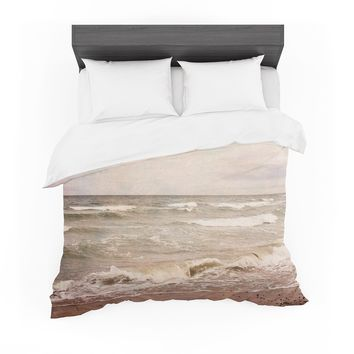 "Iris Lehnhardt ""Romantic Sea"" Beach Brown Featherweight Duvet Cover"