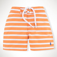 Striped Sanibel Swim Trunk