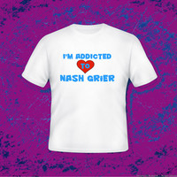 ADDICTED to NASH GRIER Youth-2XL