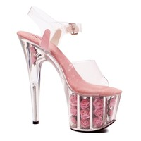 Ellie Shoes E-709-Blossom 7 Heel Sandal