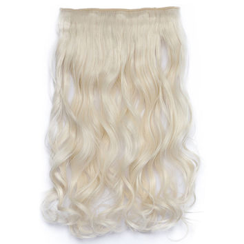 120g One Piece 5 Cards Hair Extension Wig     60