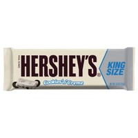 Hershey's Cookies 'n' Creme King Size Bar, 2.6-Ounce Bars (Pack of 18)