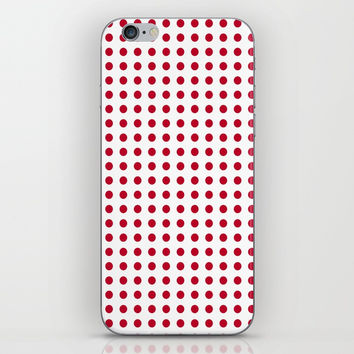 Abstract from the flag of japan – japanese,red,sun,asia,nippon,tokyo,edo,osaka,nagoya,ikebana,noh. iPhone & iPod Skin by oldking