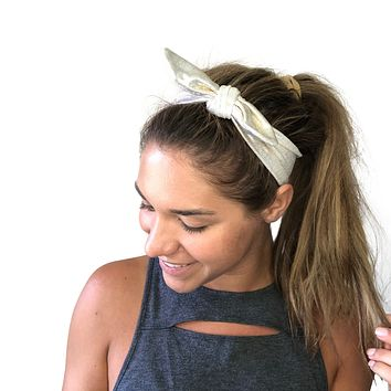 Tie-Up Head Band