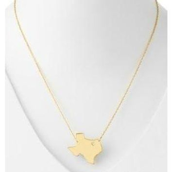 Moon and Lola Texas State Necklace