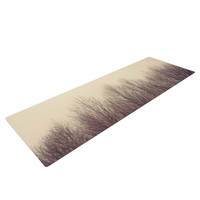 "Robin Dickinson ""Forest"" Beige Brown Yoga Mat"