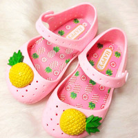 Pineapple Pattern Summer Fashion Style Lovely baby girls Gift = 4697508356
