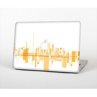 The Abstract Yellow Skyline View Skin for the Apple MacBook Pro 13""