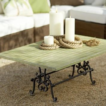 Tile Top Coffee Table | Pottery Barn