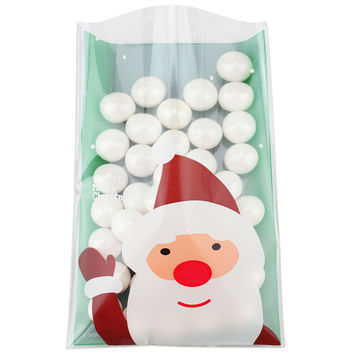 Green Santa Cello Bags