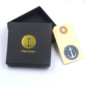 5pcs High Quality Jewelry Box Paper Bangle Boxes, Earrings/Pendant Box Square Display Packaging Gift Box With Card Accessories