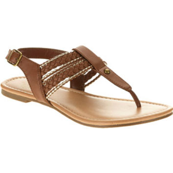 Walmart: Faded Glory Women's Shylo Leather Sandal