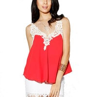 Papaya Clothing Online :: LACY TOP
