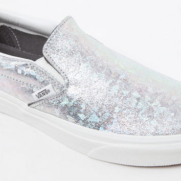Vans Women s Hologram Slip-On Sneakers at from PacSun 198e083398