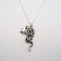 Dragon Necklace Dragon Mythology Necklace Dragon Jewelry Dragon Lovers Gifts Under 20  Choose Your Chain