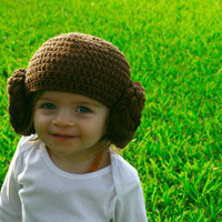 Princess Leia Inspired Hat, Star Wars Inspired, Halloween Costume, Toddler, Child, Teen, Adult