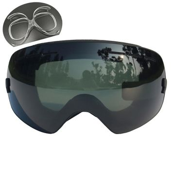 Professional Ski Goggles Double Lens UV400 Anti-fog Adult Snowboard Skiing Glasses Women Men Snow Ski Mask Eyewear
