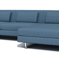 "Hamlin 130"" Sofa with Chaise"