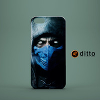 SUBZERO MORTAL KOMBAT Design Custom Case by ditto! for iPhone 6 6 Plus iPhone 5 5s 5c iPhone 4 4s Samsung Galaxy s3 s4 & s5 and Note 2 3 4