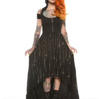 Raining Cross Hooded Maxi Dress | Grit N Glory