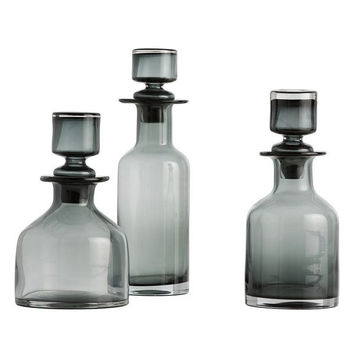 Arteriors Home O'Connor Decanters, Set/3 - Arteriors 7509