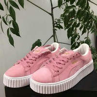 Purchase 2018 Puma Suede Creeper Rihanna Fenty Dirty Rose 361005 04 PINK sneaker