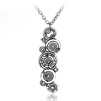 Free Shipping Doctor Who Gallifreyan Necklace