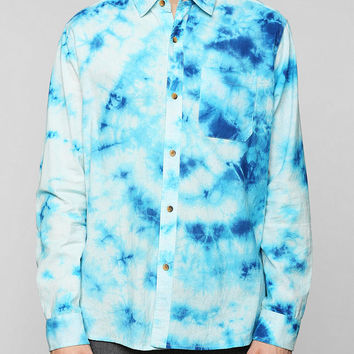 Koto Tie-Dye Button-Down Shirt - Urban Outfitters
