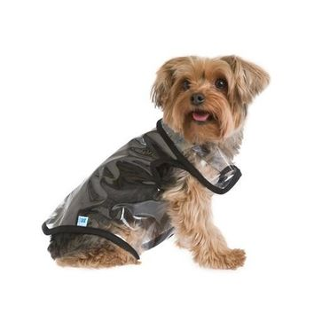 Transparent Dog Rain Jacket