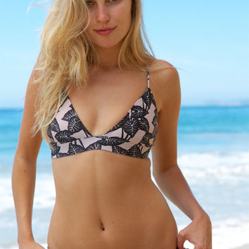 ACACIA SWIMWEAR - Awapuhi Top | Black Elephant