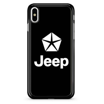 Jeep Logo 8d iPhone X Case