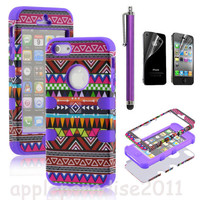 Fashionwoman — 051021 Totem Protective Case For Iphone 4/4s/5 with pen and sticker