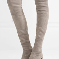 Stuart Weitzman - Hiline stretch-suede over-the-knee boots