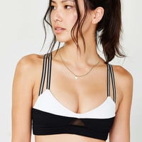 Blue Life Fit Colorblock Bralette - Urban Outfitters