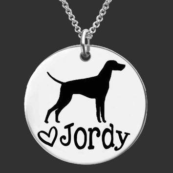Vizsla Personalized Jewelry