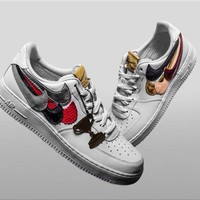 John Geiger x The Shoe Surgeon x Nike Air Force 1 Sneaker Size 36-45
