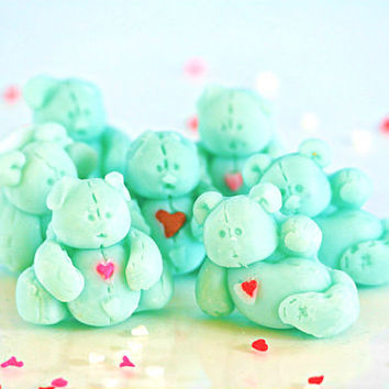 Adorable Mini Bear Coconut Scented Dozen Soy Wax Tarts