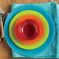 Fiesta Sol Recycled Glass Dinnerware - VivaTerra