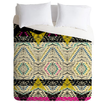 Pattern State City Native Duvet Cover