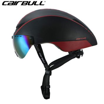 Cycling Helmet Bike Magnetic Goggles Bicycle Helmet Road Mountain MTB Helmets Safety Head Wear