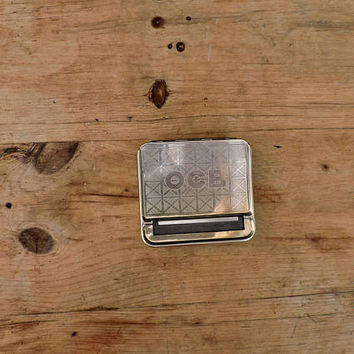 Vintage Cigarette Roller - Tobacco Box -  Cigarettes Dispenser - British Collectors Tobacco Tin - 1930s Tobacco Roller/Cigarette
