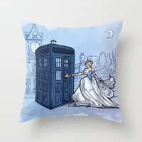 Come Away with Me Throw Pillow by Karen Hallion Illustrations | Society6