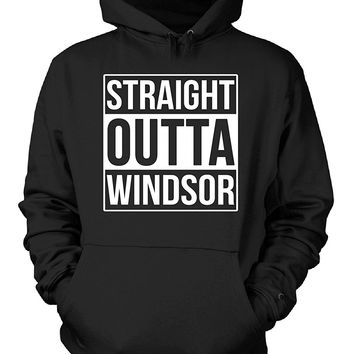 Straight Outta Windsor County. Cool Gift - Hoodie