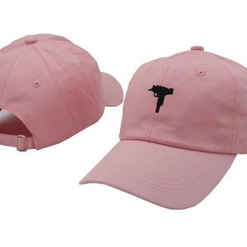 Day-First™ UZI Gun Embroidered Baseball Cap Hat