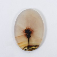 27x19mm Top Grade Indian Picture Agate