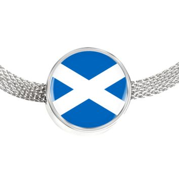 Scottish Pride - Luxury Charm Bracelet